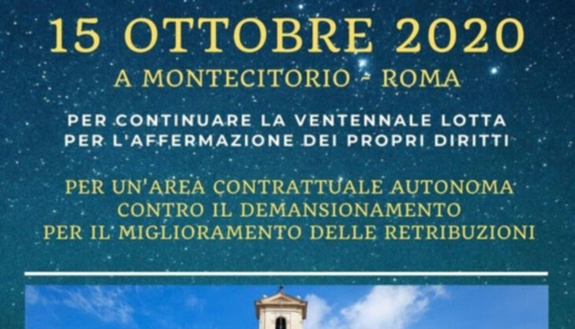 15 OTTOBRE SAVE THE DATE